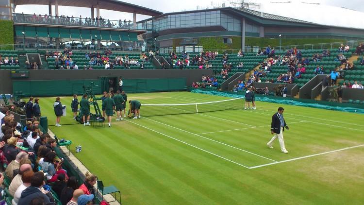 Wimbledon-Live in der STK-Gastronomie