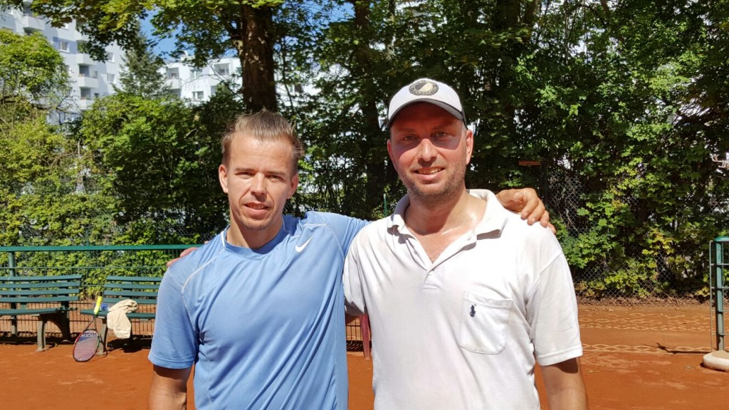 Herren 40: Daniel Kobert & Wolfgang Renner