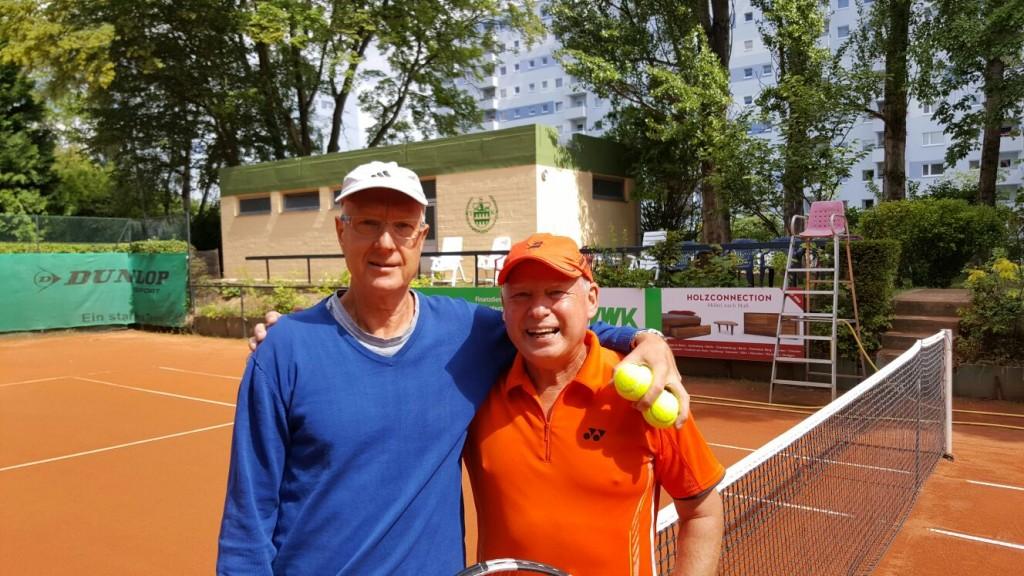 Herren 60: Gerd Hekele, Andrzej Nuszkiewicz