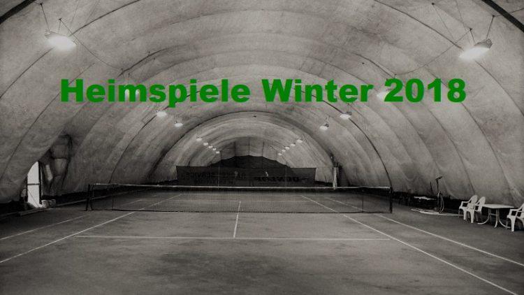 Heimspiele im Winter 2018